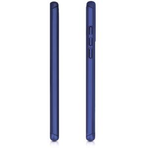Husa Full Cover 360 + folie sticla pentru Huawei P30 Lite, Albastru3