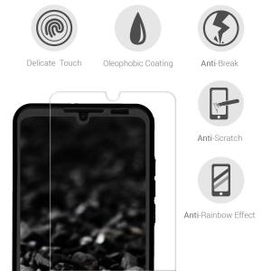 Husa Full Cover 360 + folie sticla pentru Huawei P30 Lite, Negru3