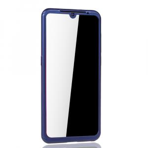 Husa Full Cover 360 + folie sticla pentru Xiaomi Mi 9, Albastru3