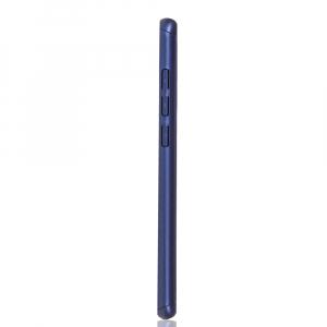 Husa Full Cover 360 + folie sticla pentru Xiaomi Mi 9, Albastru2