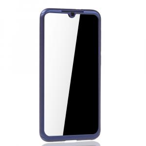 Husa Full Cover 360 + folie sticla pentru Xiaomi Mi 9 SE, Albastru2