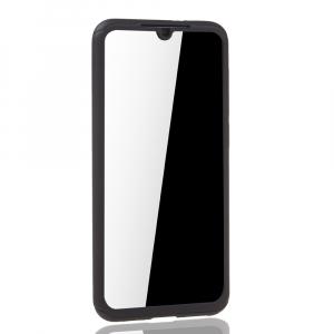Husa Full Cover 360 + folie sticla pentru Xiaomi Mi 9 SE, Negru4