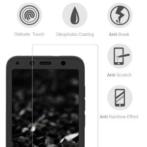 Husa Full Cover 360 + folie sticla pentru Xiaomi Redmi 7A, Negru [2]
