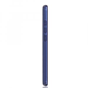 Husa Full Cover 360 + folie sticla pentru Xiaomi Redmi Note 7, Albastru2