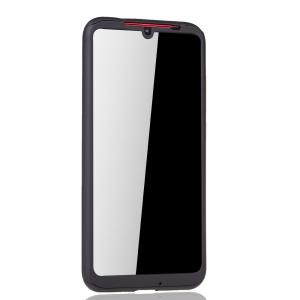 Husa Full Cover 360 + folie sticla pentru Xiaomi Redmi Note 7, Negru2