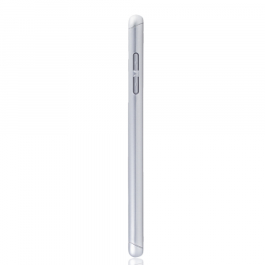 Husa Full Cover 360 + folie sticla Samsung Galaxy A6+ (2018), Silver2