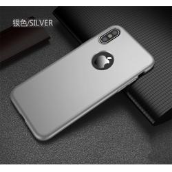 Husa Full Cover 360 iPhone X, Silver