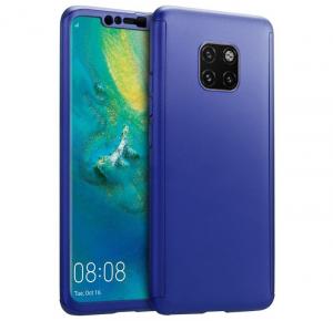 Husa Full Cover 360 pentru Huawei Mate 20 Pro, Albastru0