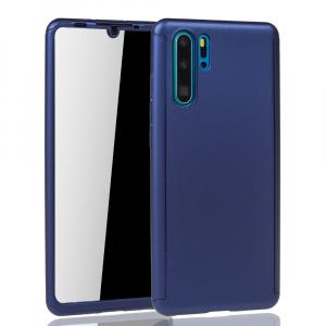 Husa Full Cover 360 pentru Huawei P30 Pro, Albastru1