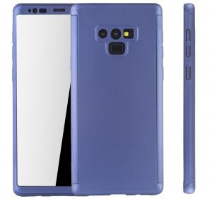 Husa Full Cover 360 pentru Samsung Galaxy Note 9, Albastru [1]