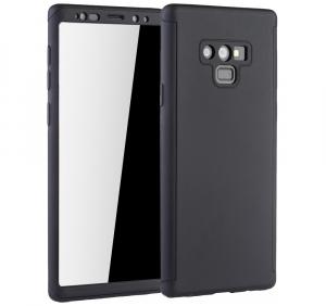 Husa Full Cover 360 pentru Samsung Galaxy Note 9, Negru0