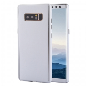 Husa Full Cover 360 Samsung Galaxy Note 8, Silver0