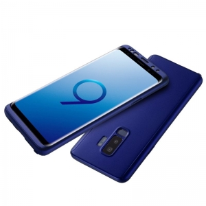 Husa Full Cover 360 Samsung Galaxy S9 Plus, Albastru1