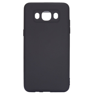 Husa Full Silicone 360 pentru Samsung Galaxy J3 (2016), Negru0