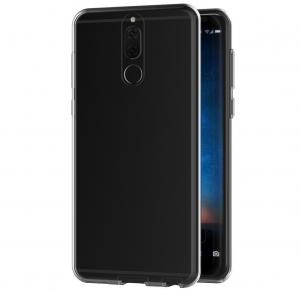 Husa Full TPU 360 fata + spate Huawei Mate 10 Lite, Gri Transparent1