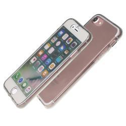 Husa Full TPU 360 (fata + spate) iPhone 8, Gri Transparent1