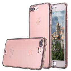 Husa Full TPU 360 (fata + spate) iPhone 8 Plus, Gri Transparent1