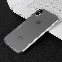 Husa Full TPU 360 (fata + spate) iPhone X, Gri Transparent