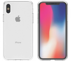 Husa Full TPU 360 fata spate iPhone X, Transparent1