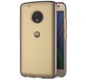 Husa Full TPU 360 fata + spate Motorola Moto G5 Plus, Gri Transparent2