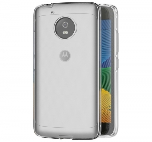 Husa Full TPU 360 fata + spate Motorola Moto G5, Transparent [2]