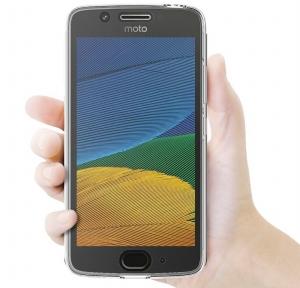 Husa Full TPU 360 fata + spate Motorola Moto G5, Transparent3
