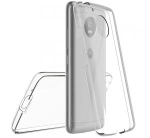 Husa Full TPU 360 fata + spate Motorola Moto G5, Transparent [1]