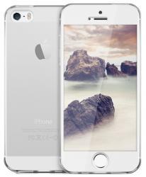 Husa Full TPU 360 (fata + spate) pentru Apple iPhone 5 / 5S / SE, Transparent1