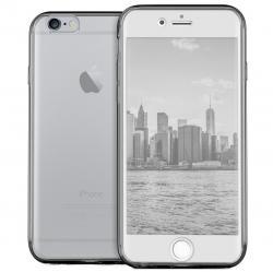 Husa Full TPU 360 (fata + spate) pentru Apple iPhone 6 / 6S, Gri Transparent1