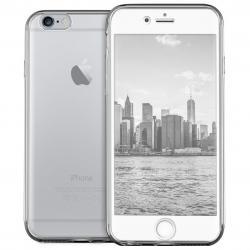 Husa Full TPU 360 (fata + spate) pentru Apple iPhone 6 / 6S, Transparent