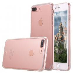 Husa Full TPU 360 (fata + spate) pentru Apple iPhone 7 Plus, Transparent0