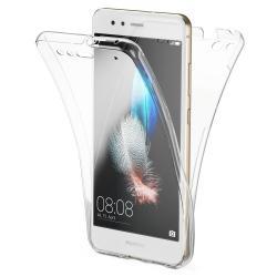 Husa Full TPU 360 (fata + spate) pentru Huawei P10 Lite, Transparent0