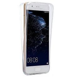 Husa Full TPU 360 (fata + spate) pentru Huawei P10 Plus, Transparent0