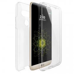 Husa Full TPU 360 (fata + spate) pentru LG G5, Transparent0