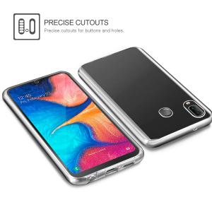 Husa Full TPU 360 fata + spate pentru Samsung Galaxy A20e, Transparent [2]