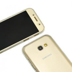 Husa Full TPU 360 (fata + spate) pentru Samsung Galaxy A5 (2017), Transparent2