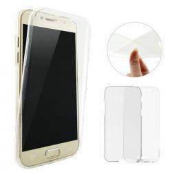 Husa Full TPU 360 (fata + spate) pentru Samsung Galaxy A5 (2017), Transparent1