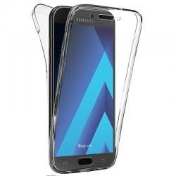 Husa Full TPU 360 (fata + spate) pentru Samsung Galaxy A7 (2017), Transparent0