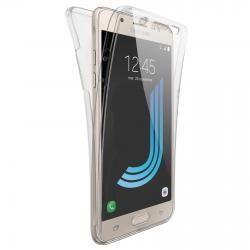 Husa Full TPU 360 (fata + spate) pentru Samsung Galaxy J5 (2016), Transparent