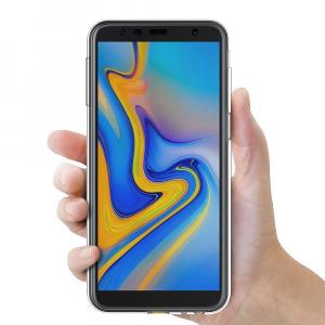 Husa Full TPU 360 fata + spate pentru Samsung Galaxy J6 Plus (2018), Transparent2