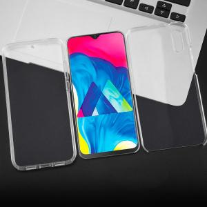 Husa Full TPU 360 fata + spate pentru Samsung Galaxy M10, Transparent2