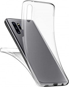 Husa Full TPU 360 fata + spate pentru Samsung Galaxy Note 10 Plus, Transparent [2]