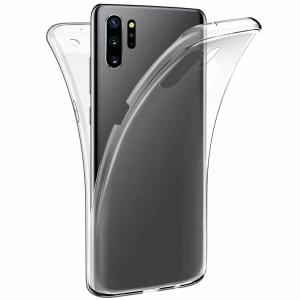 Husa Full TPU 360 fata + spate pentru Samsung Galaxy Note 10 Plus, Transparent [0]