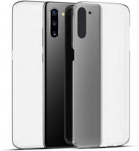 Husa Full TPU 360 fata + spate pentru Samsung Galaxy Note 10, Transparent1