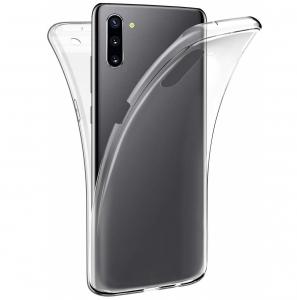 Husa Full TPU 360 fata + spate pentru Samsung Galaxy Note 10, Transparent0