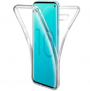 Husa Full TPU 360 fata + spate pentru Samsung Galaxy S10e, Transparent0