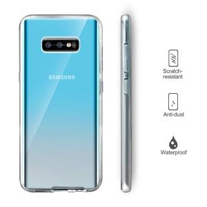 Husa Full TPU 360 fata + spate pentru Samsung Galaxy S10e, Transparent2
