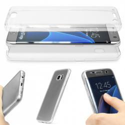 Husa Full TPU 360 (fata + spate) pentru Samsung Galaxy S7 Edge, Transparent1