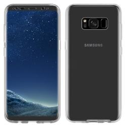 Husa Full TPU 360 (fata + spate) pentru Samsung Galaxy S8 Plus, Transparent2