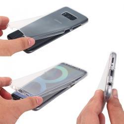 Husa Full TPU 360 (fata + spate) pentru Samsung Galaxy S8, Transparent1